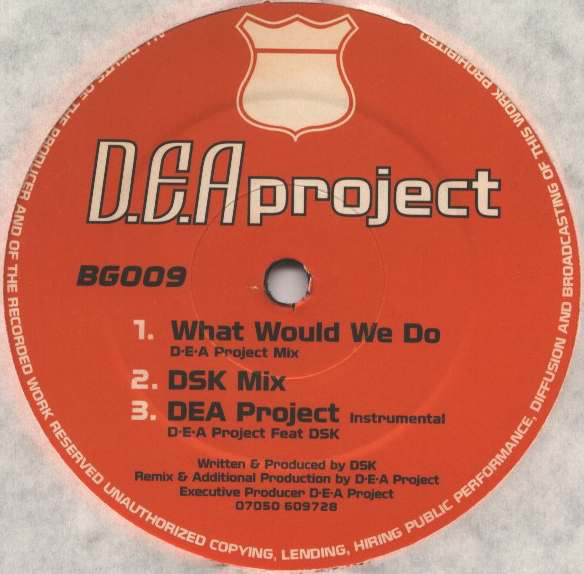 DSK - What Would We Do (DEA Project Mix)