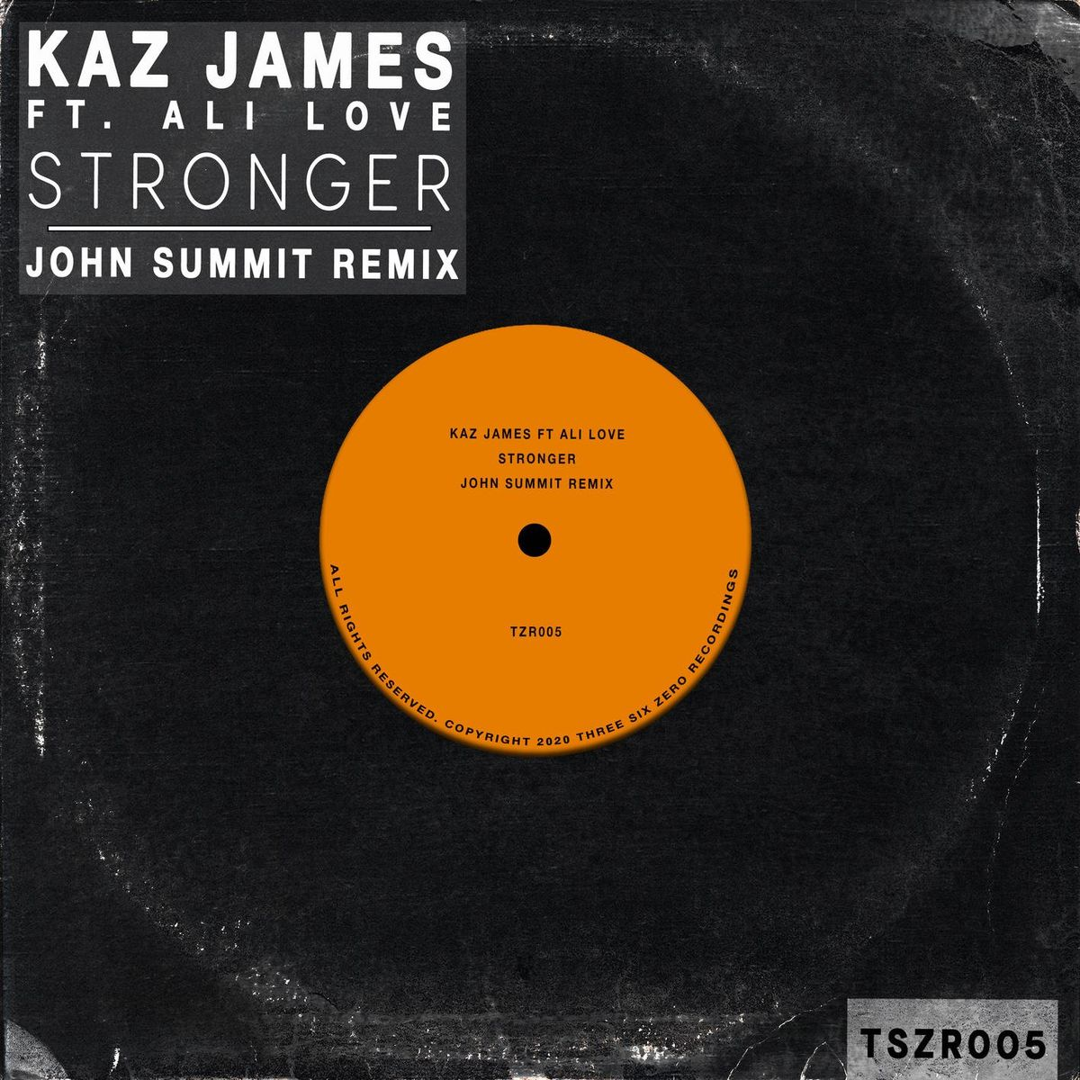 Kaz James feat. Ali Love - Stronger (John Summit Extended Remix)