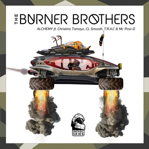 The Burner Brothers feat. Christina Tamayo, C.L. Smooth, T.r.a.c., Mc Posi-D - Alchemy (Original Mix)