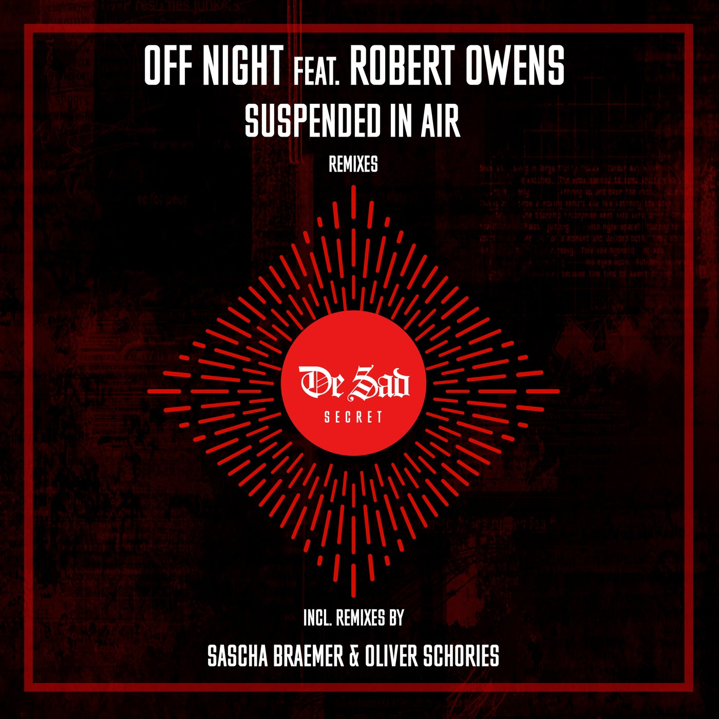 Off Night feat. Robert Owens - Suspended in Air (Oliver Schories Remix)