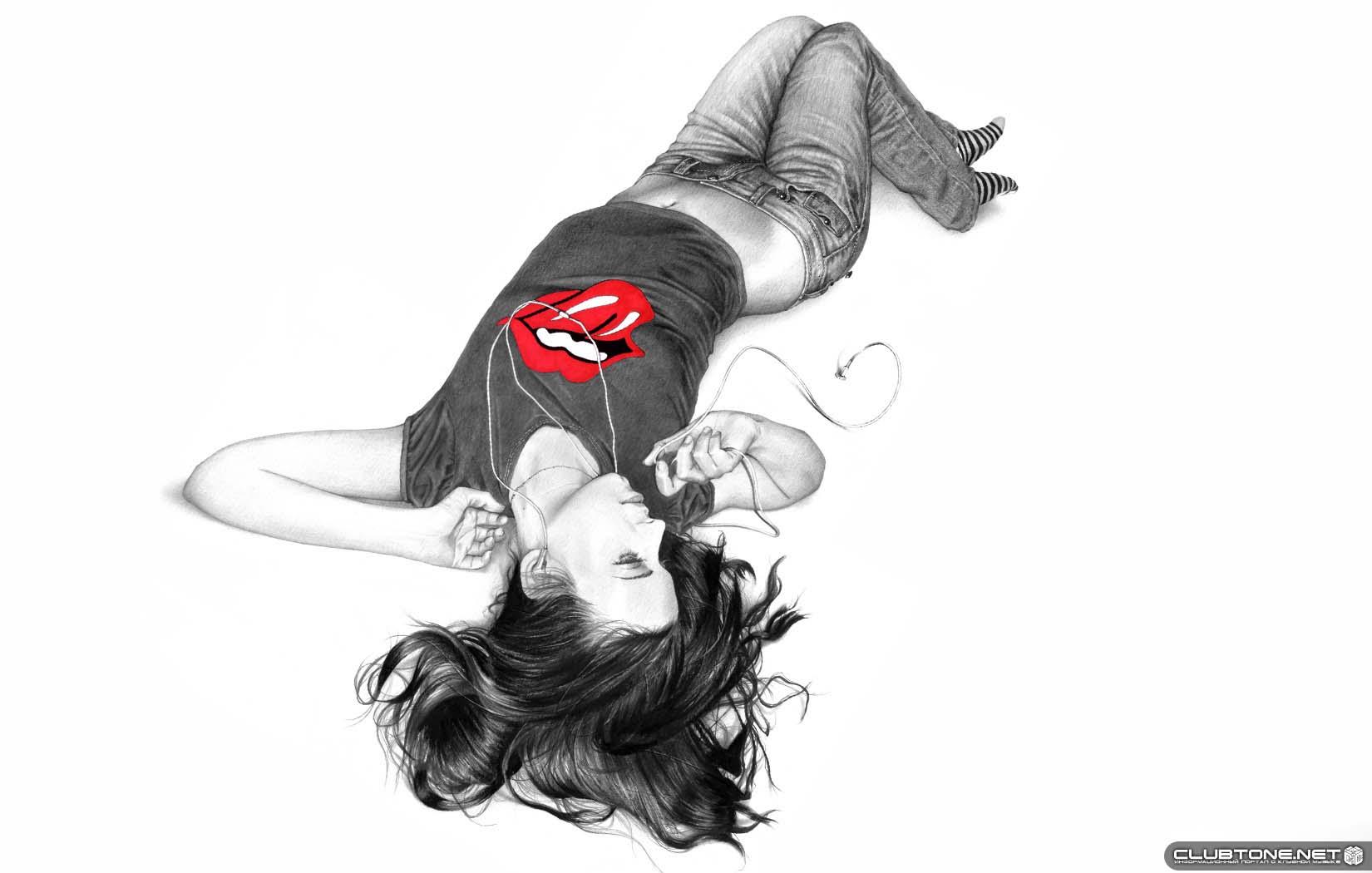 Нарисованные картинки широкобёдрых женщин фото 683-393