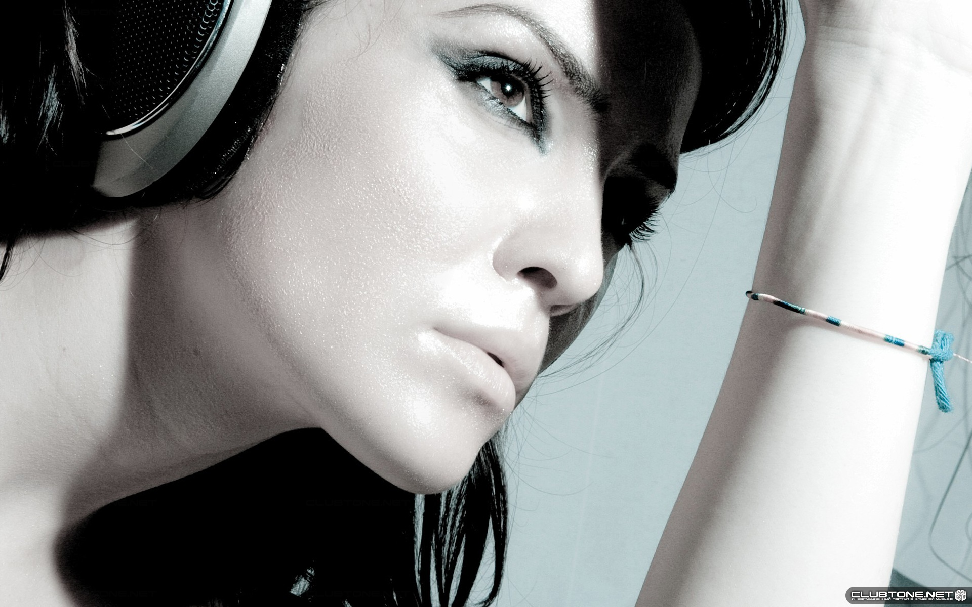 music girl wallpapers headphones - photo #42
